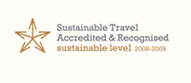 Sustainable Travel Accredited & Recognised: Sustainable Level 2008-2009